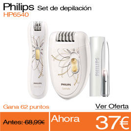 PHILIPS Set depilación